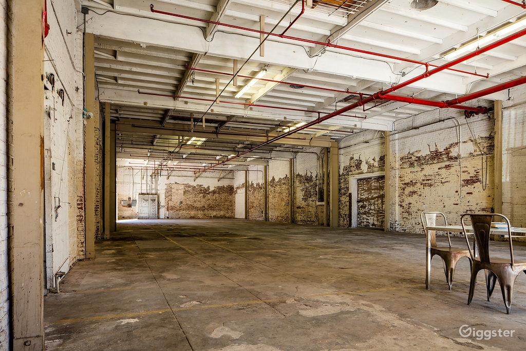 Derelict Industrial Warehouse near South Park Los Angeles Rental