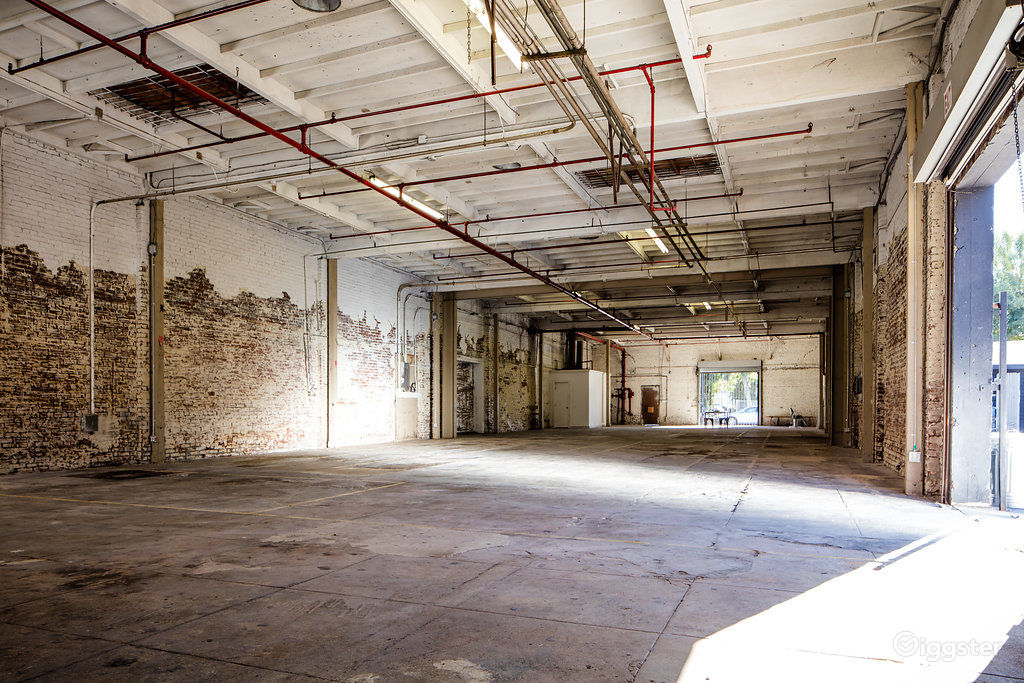 Neglected Industrial Warehouse near South Park Los Angeles Rental