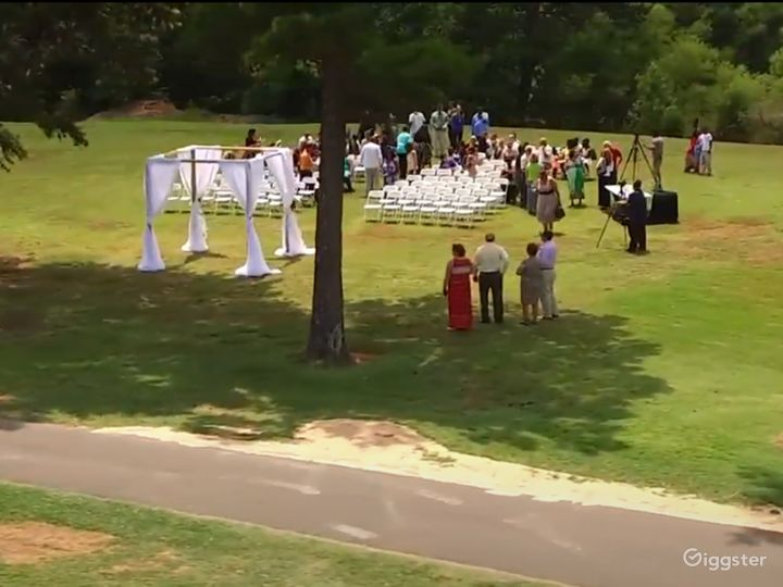 Lake view Ceremony Lawn in Charlotte NC Photo 5