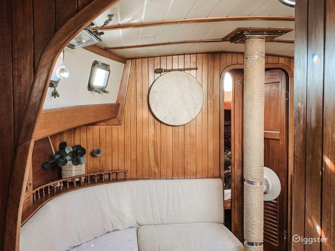Charming Nautical Sailboat Photo 1
