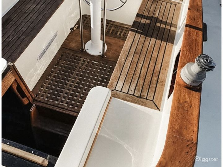Charming Nautical Sailboat Photo 3