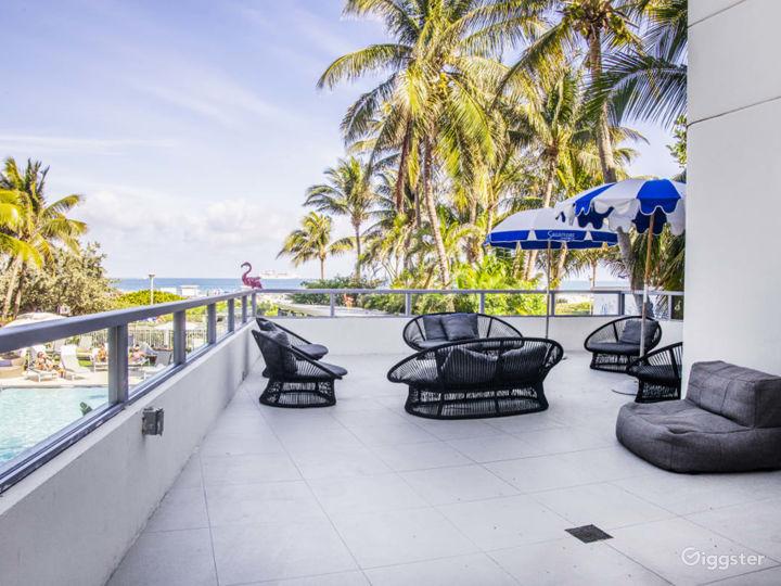 Ocean Lanai Suite Terrace in Miami Beach Photo 3
