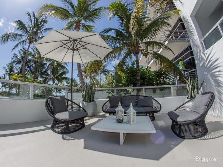 Ocean Lanai Suite Terrace in Miami Beach Photo 2