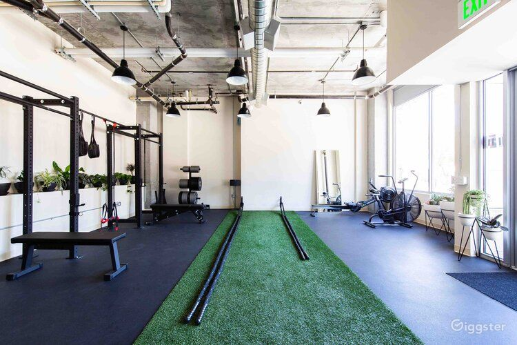 Spacious and Well Lighted Fitness Studio Photo 1