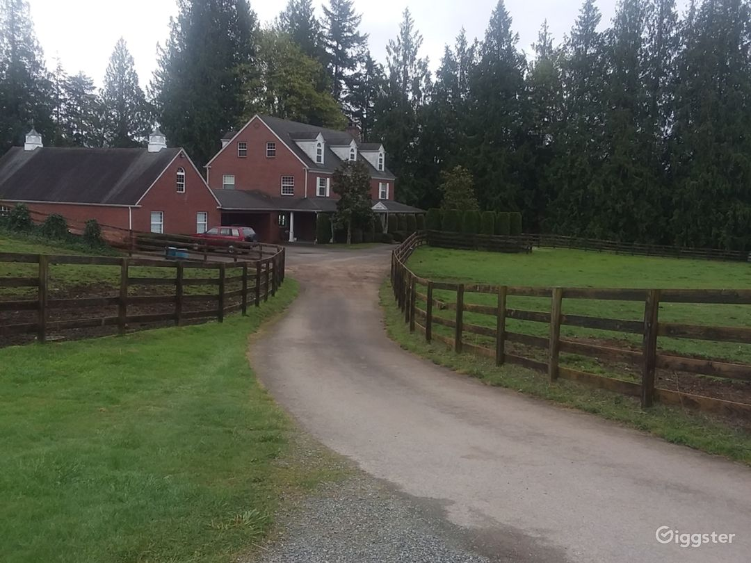 Brick House, Rolling Pastures, Equestrian Estate  Photo 2