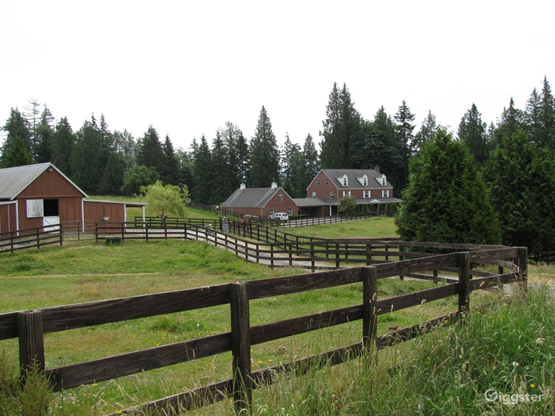 Brick House, Rolling Pastures, Equestrian Estate  Photo 1