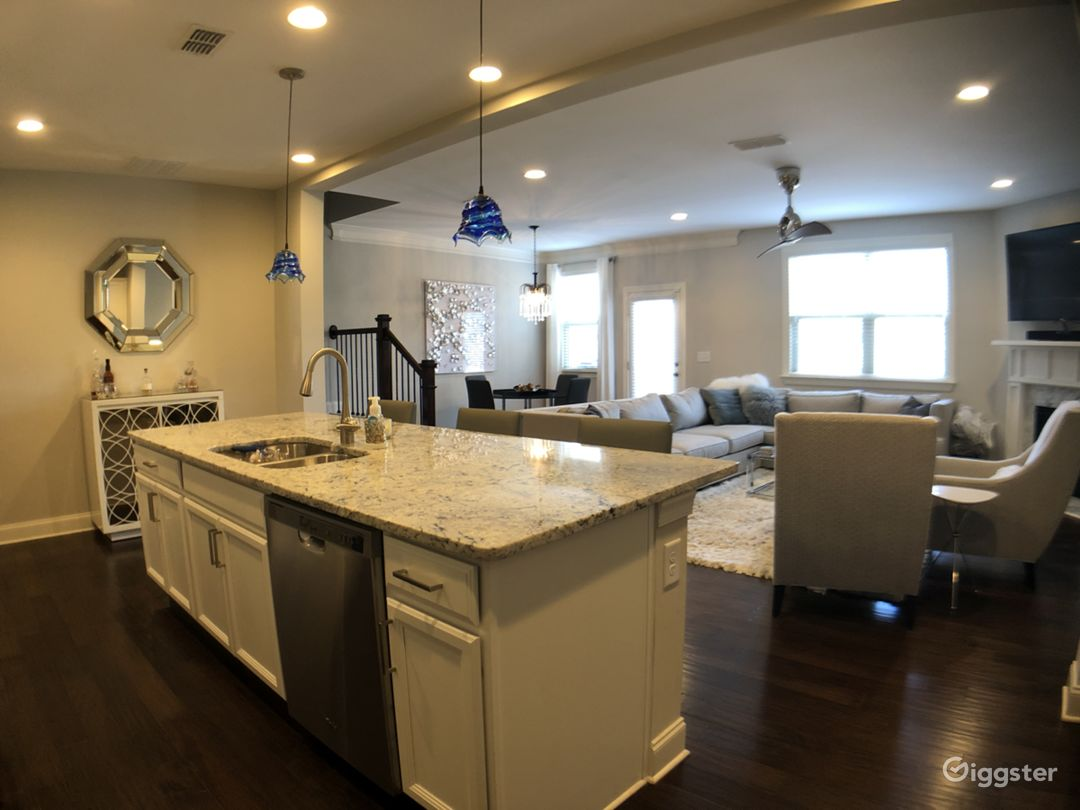 Contemporary Townhouse with Chef's Kitchen Photo 1