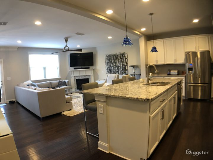 Contemporary Townhouse with Chef's Kitchen Photo 2