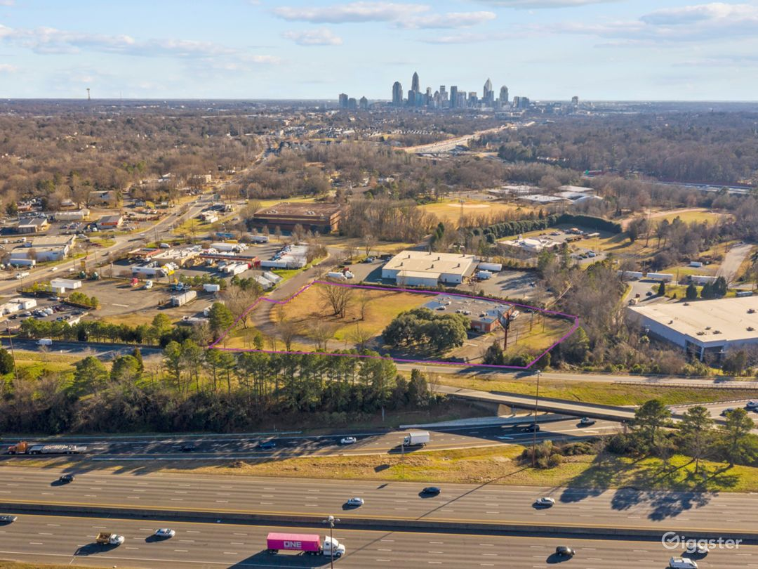 Property right on I-85 and I-77