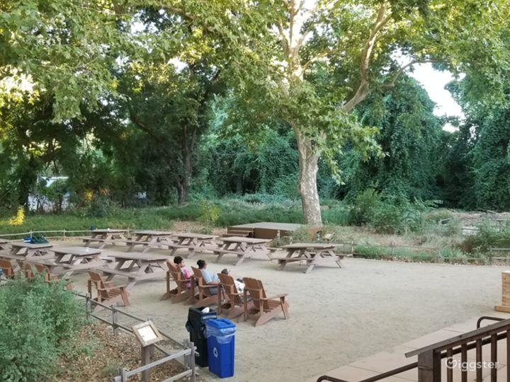 Rustic former-scout camp riverfront park Photo 5
