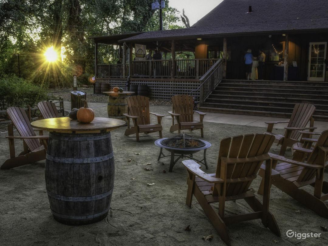 Rustic former-scout camp riverfront park Photo 1