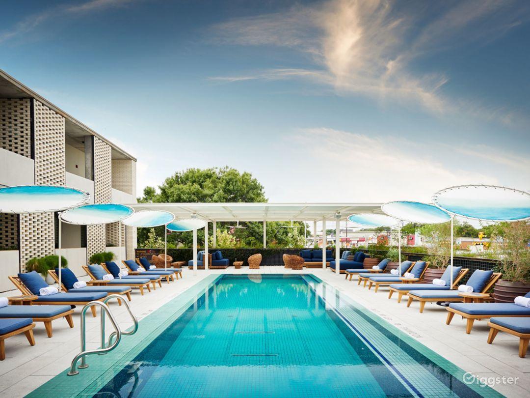 Urban Pool Deck + Pool Bar in Austin Photo 1