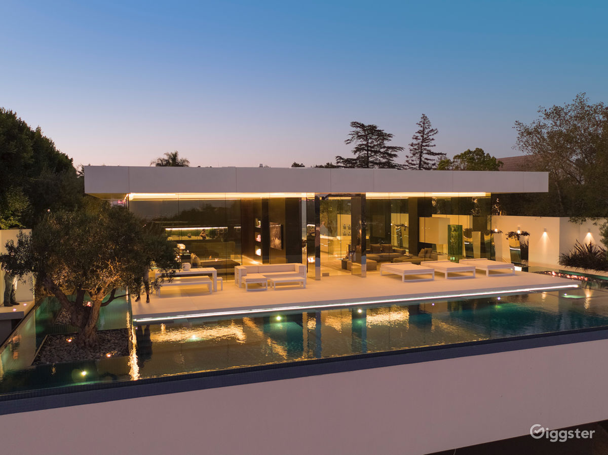 Rent Beverly Hills Glass House House Residential For Film
