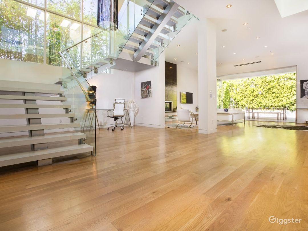 Open floor space