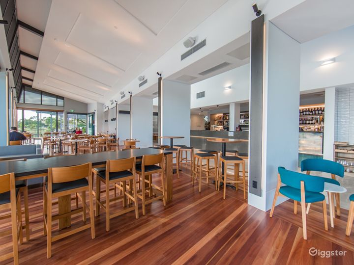 Spacious Board Walk Café and Restaurant for Events Photo 2