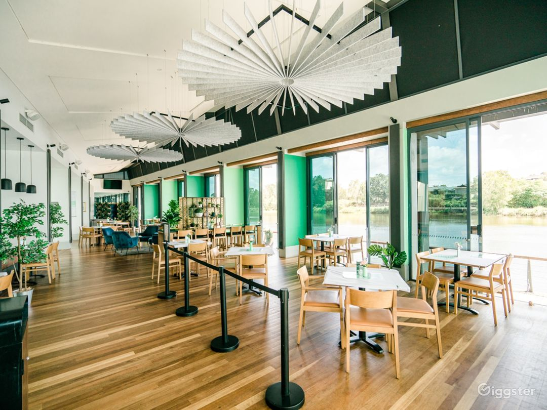 Spacious Board Walk Café and Restaurant for Events Photo 1