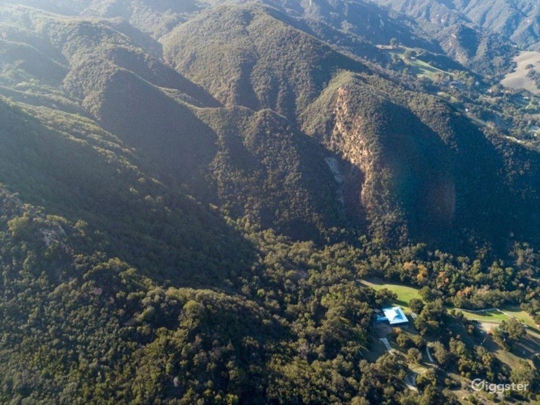 Topanga 70 acre property with waterfall  Photo 2