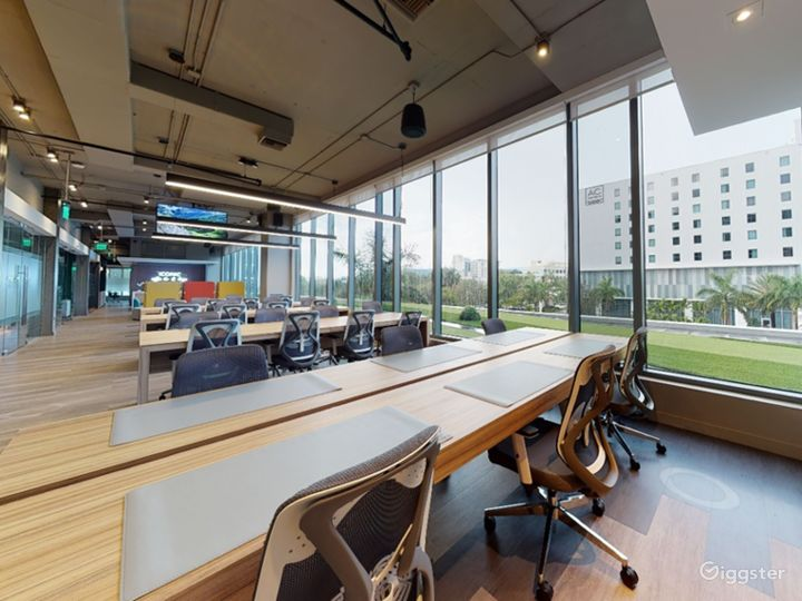 Modern Co-Working in Miami