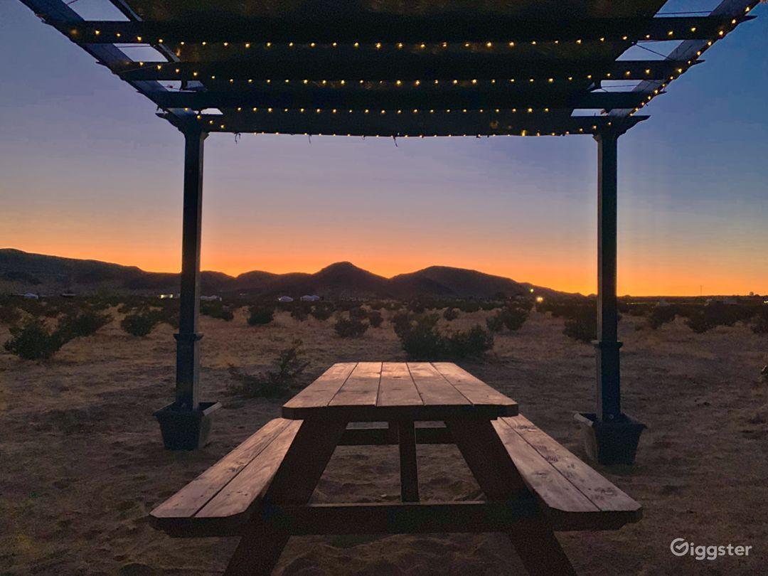Mountainous Desert Landscape Views Photo 4