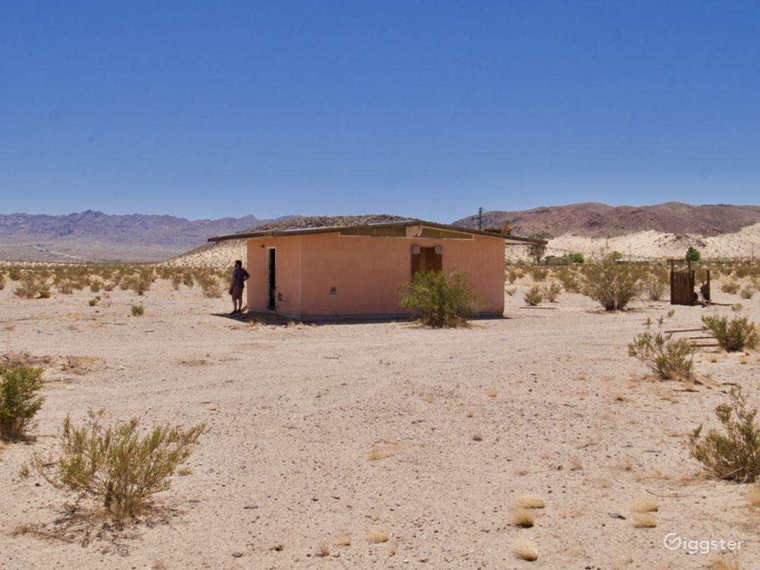 Mountainous Desert Landscape Views Photo 3