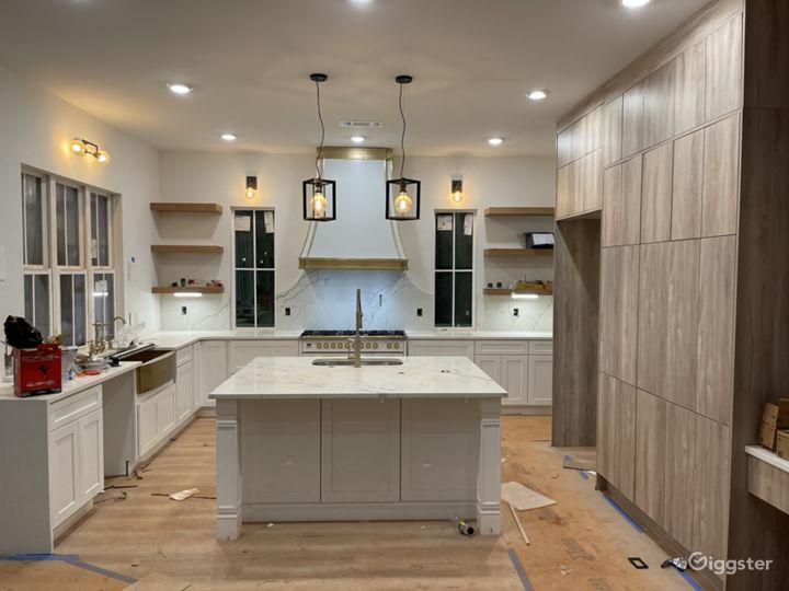 An old world modernized kitchen