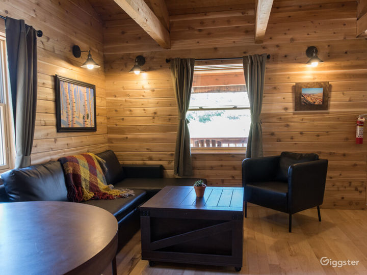 Cozy Cabin 1 with Fire Pit and Barbeque Deck