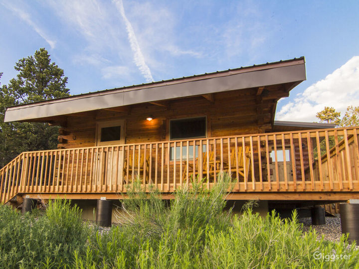 Cozy Cabin 1 with Fire Pit and Barbeque Deck Photo 5