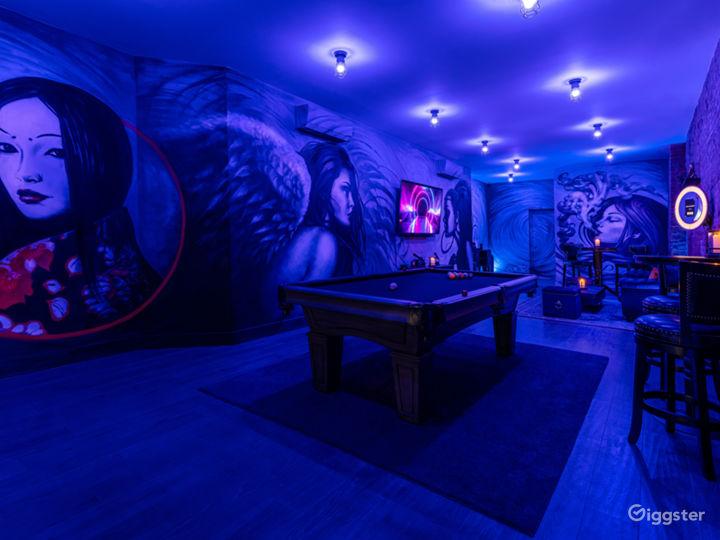Elegant Private Venue with Unique Artwork