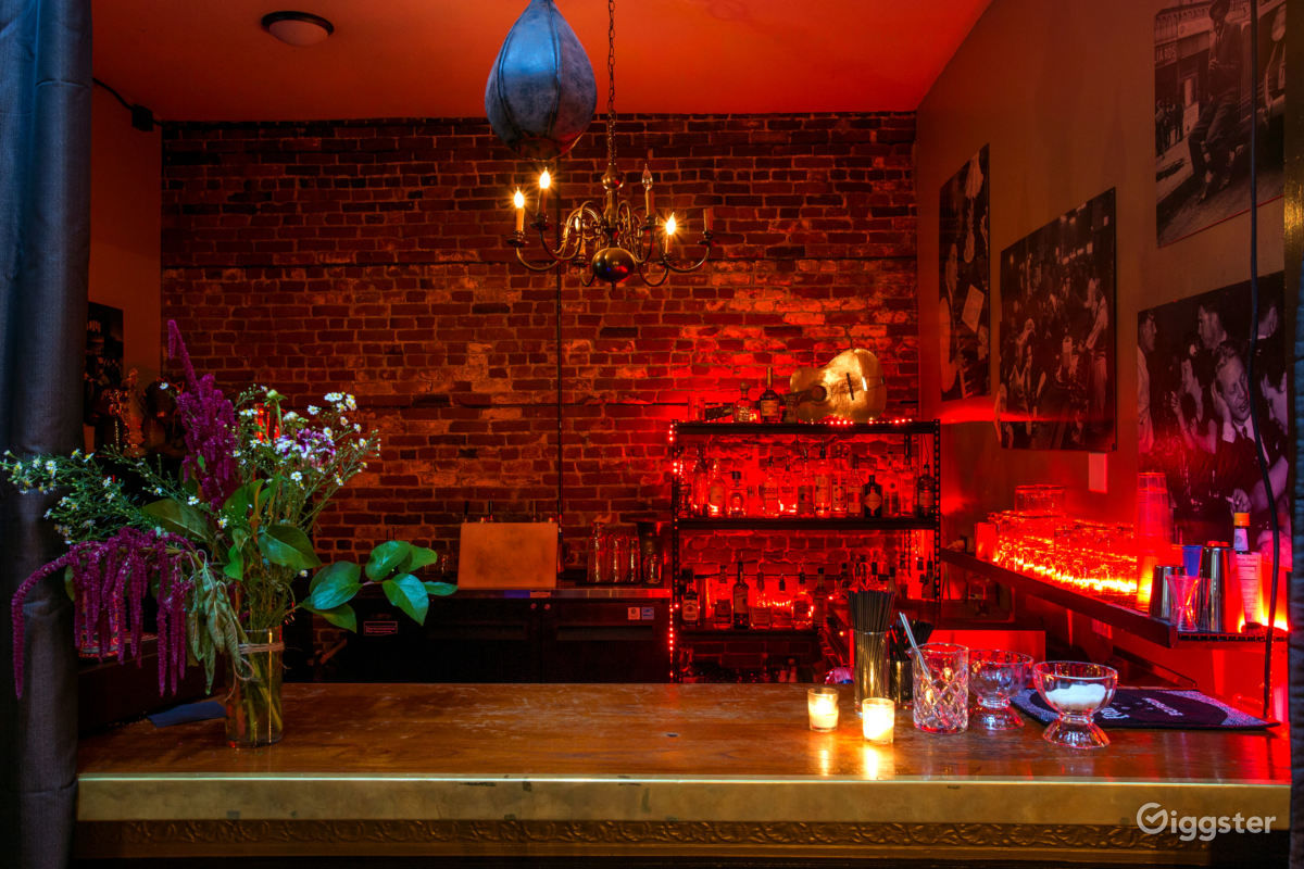 Intimate Event Space with Built-In Bar Photo 1