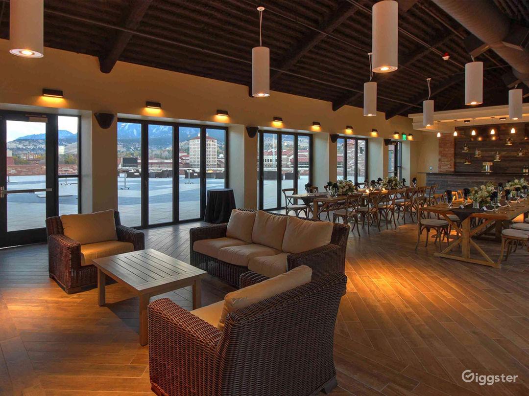 Elegant Rooftop Lounge Photo 1