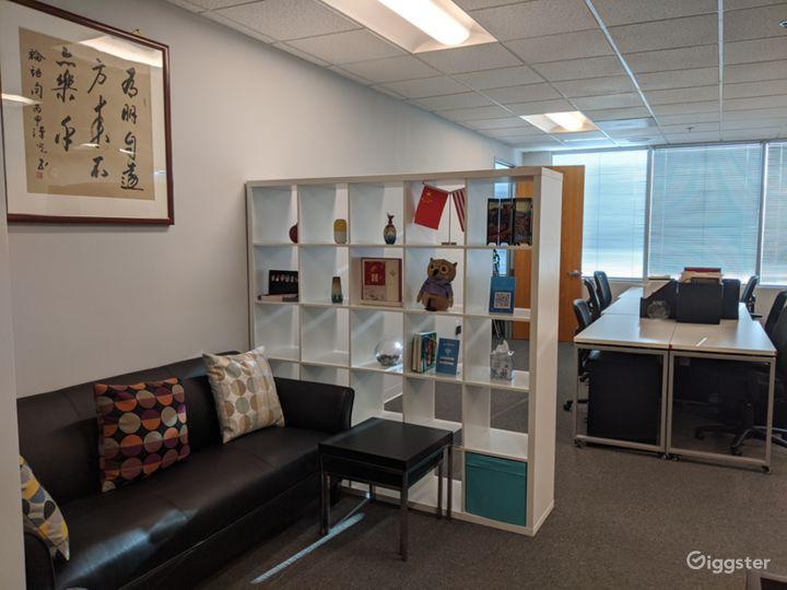 Front Desk Resting Area
