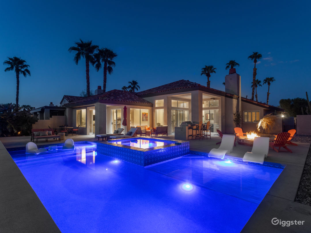 Mountain & golf view  desert villa with pool/small Photo 1
