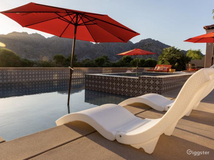 Mountain & golf view  desert villa with pool/small Photo 5