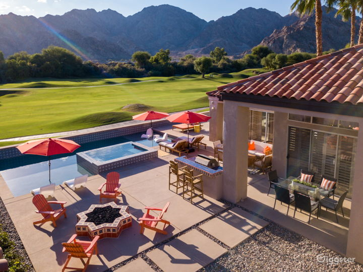 Mountain & golf view  desert villa with pool/small Photo 3