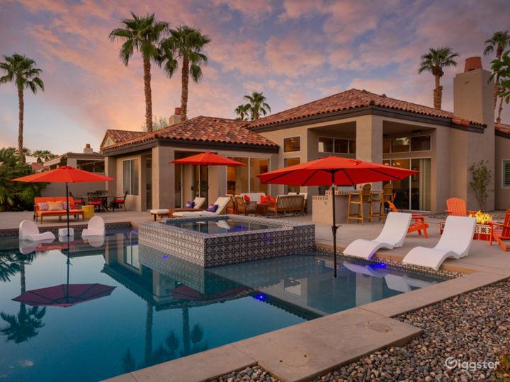 Mountain & golf view  desert villa with pool/small Photo 4
