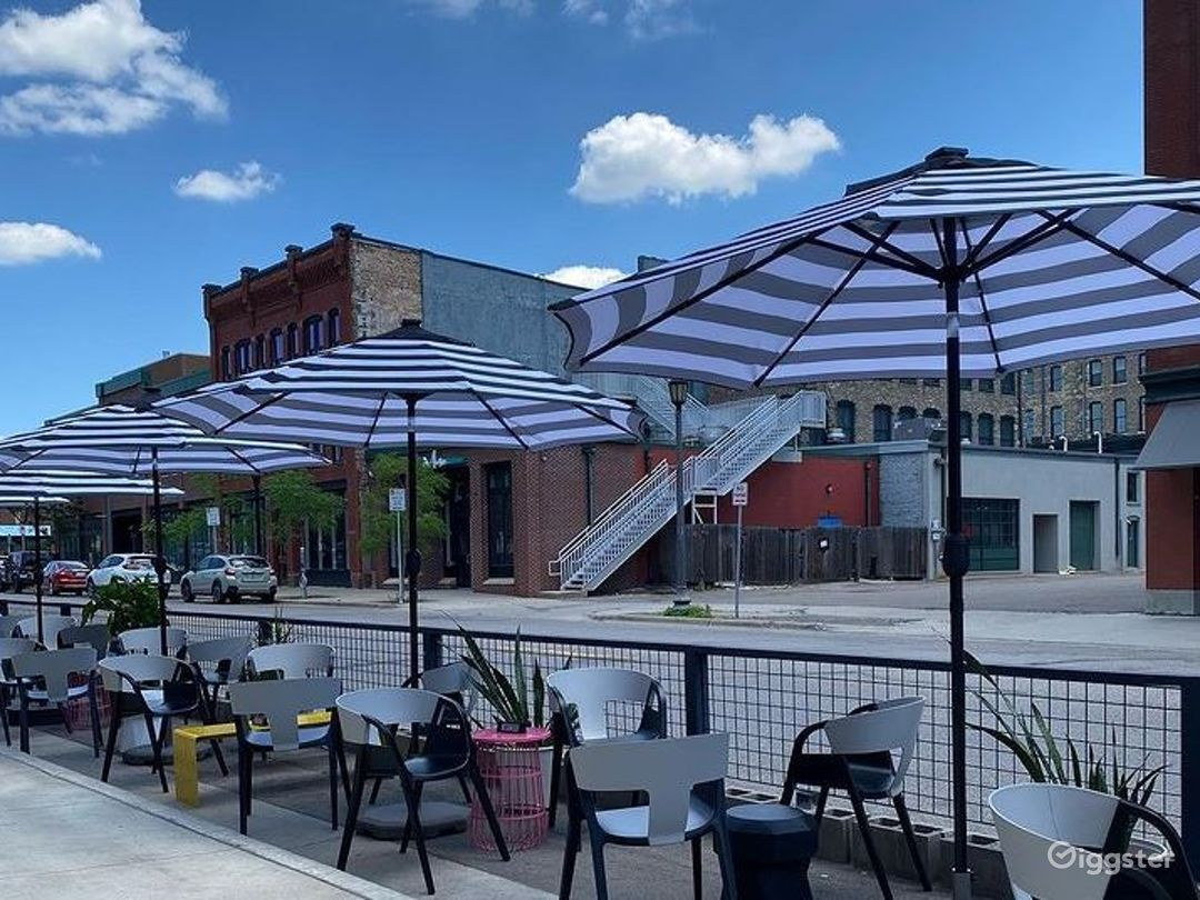 Spacious Outdoor Distillery and Lounge for Events  Photo 1