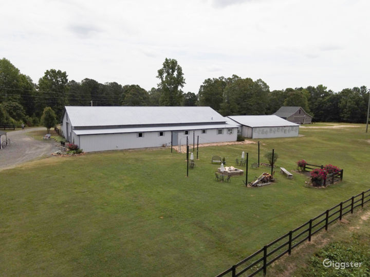 8000 Square Foot Barn