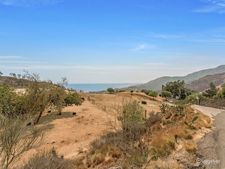 15 acres Malibu ranch with panoramic ocean view Photo 3
