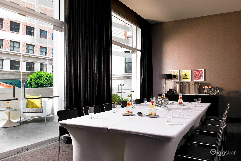 Cozy Meeting Room with Patio Photo 1