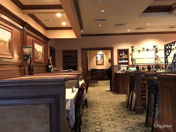 Intimate Indoor Dining Restaurant  Photo 2
