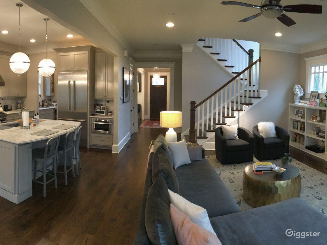 Kitchen open floorplan