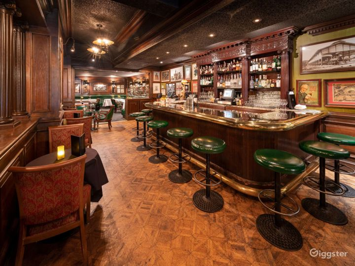 Picturesque Bar with a Rare Glimpse of Old San Francisco