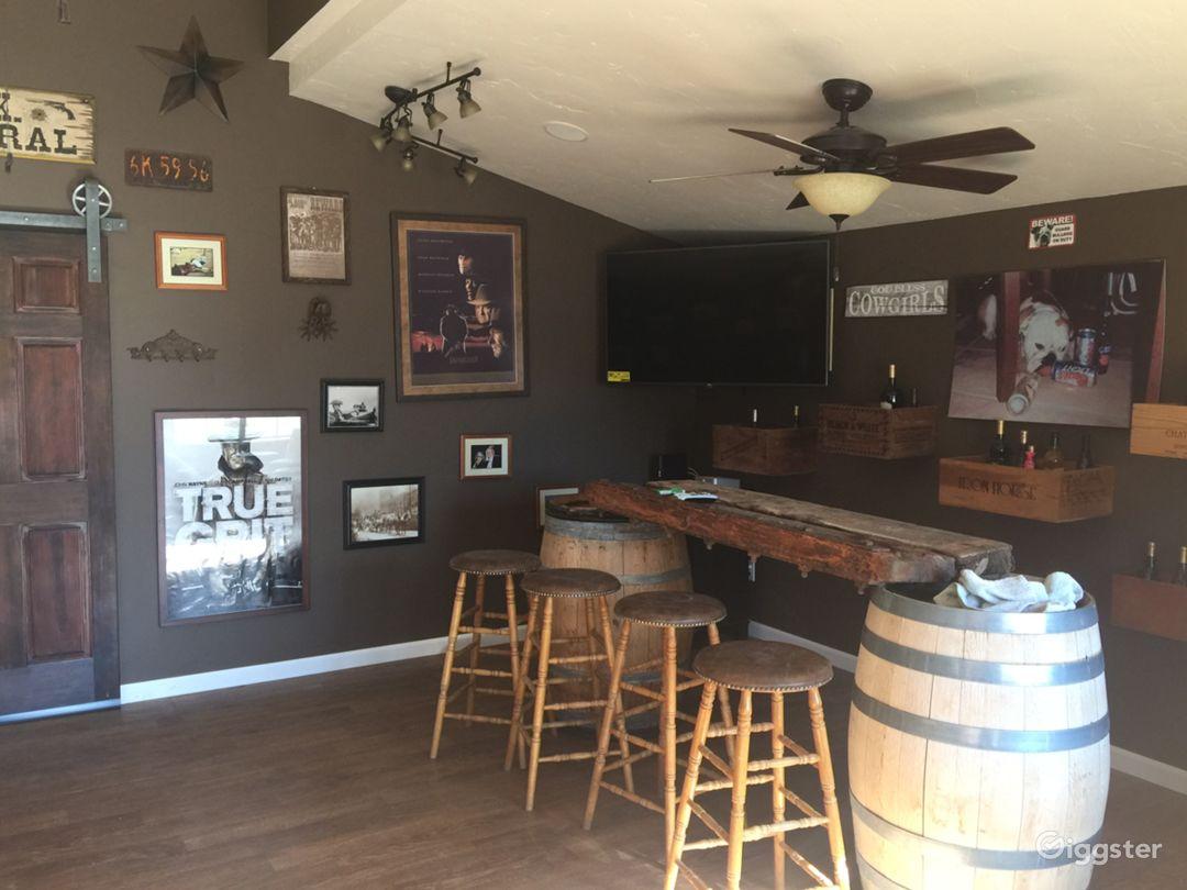 Saloon interior