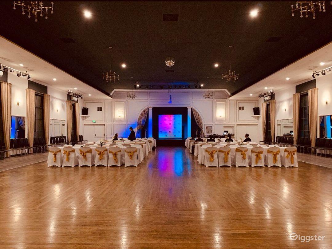 Spacious Historical Ballroom Venue Photo 1