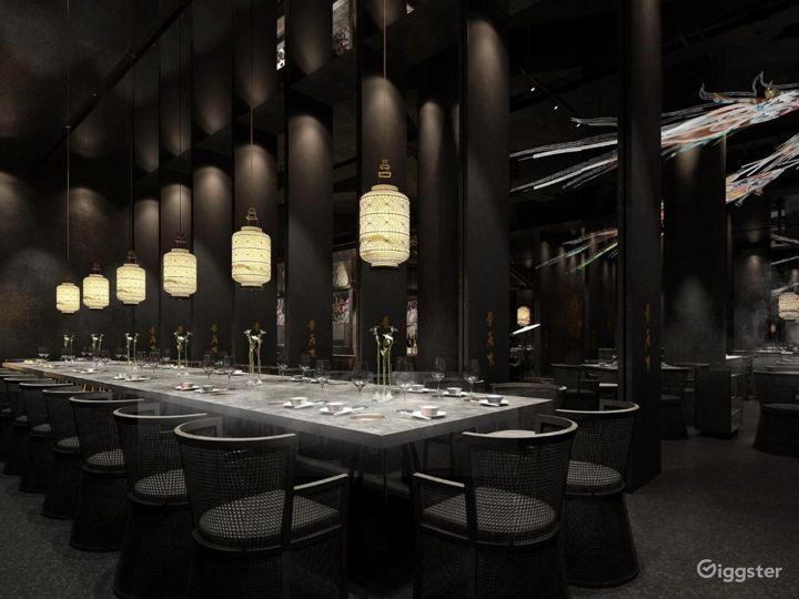 Unique Restaurant Area in Las Vegas