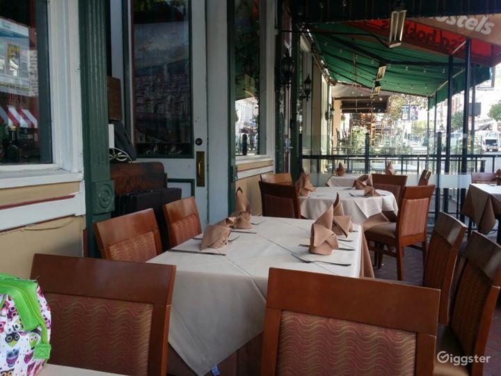 Italian Inspired Patio in San Diego
