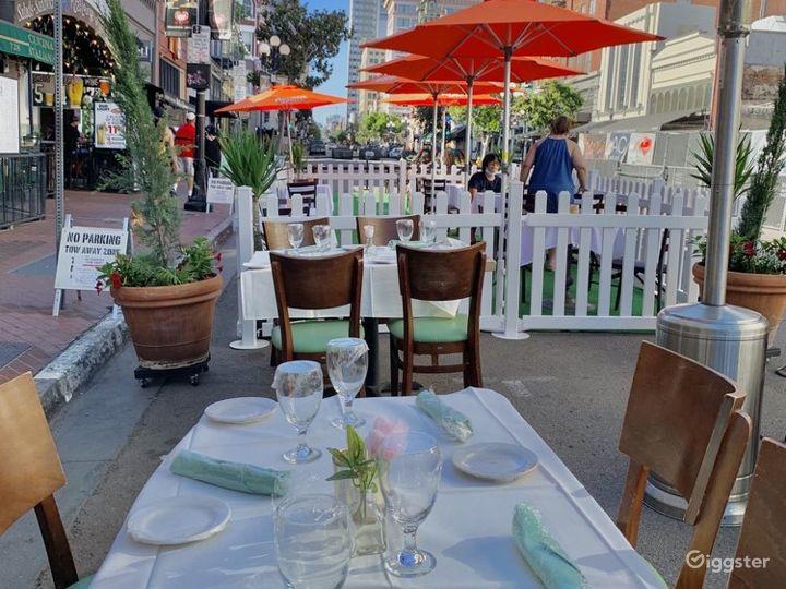 Italian Inspired Patio in San Diego Photo 2