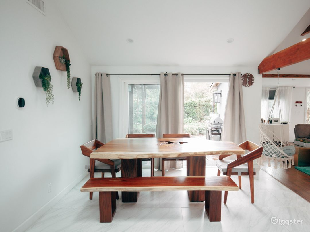 Dining table and room