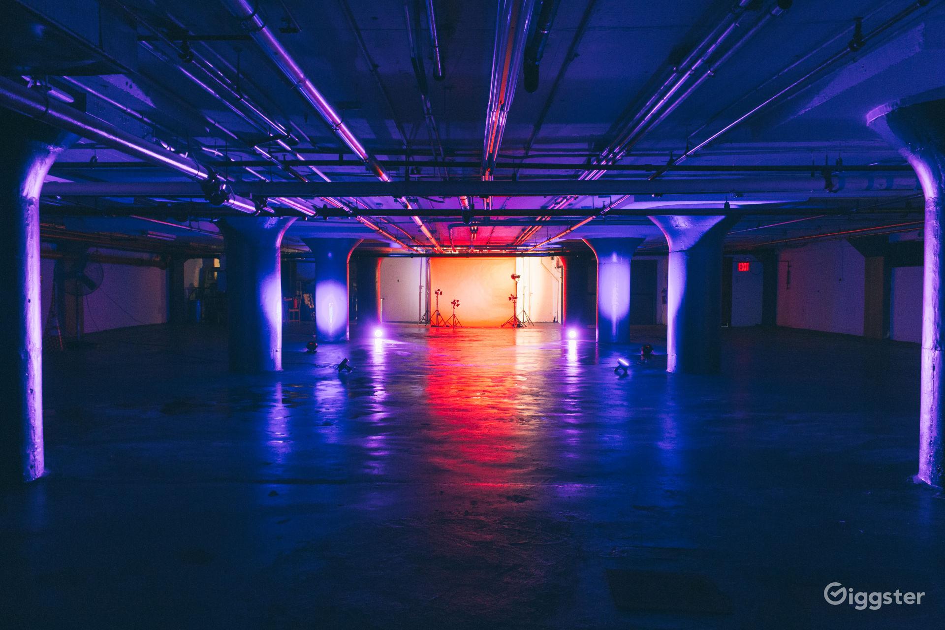 Raw, Grungy Industrial Basement Studio near Red Hook New York Rental