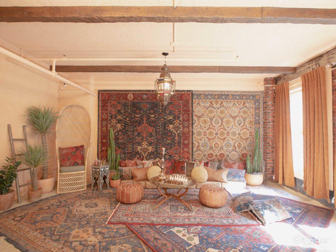 Downtown LA Moroccan Desert Bohemian Loft w/ Sand Photo 1